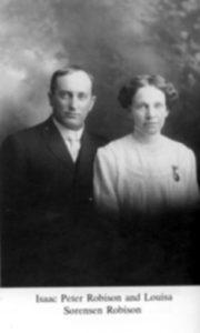 Isaac Peter & Louisa Robison