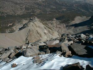 Wheeler Peak-looking down & north